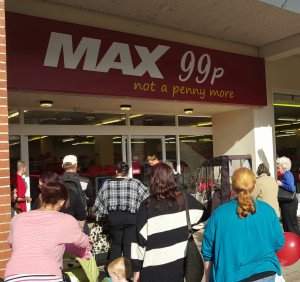 Max 99p Havant branch