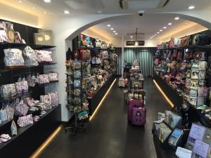 Inside Santoro's new store