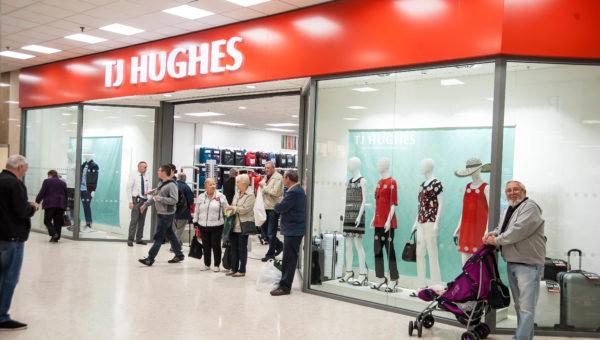 T J Hughes Store