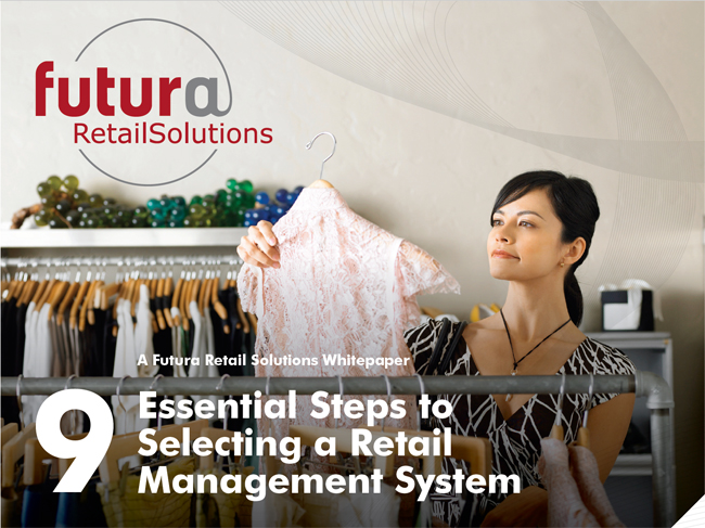 Selecting a retail management system image